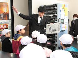 【YC 真美ヶ丘東】真美ヶ丘第二小学校2年生が職場見学