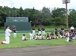 読売さわやか野球教室 開催