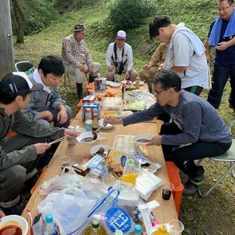 『さくらい菜の花プロジェクト』草刈り&BBQ